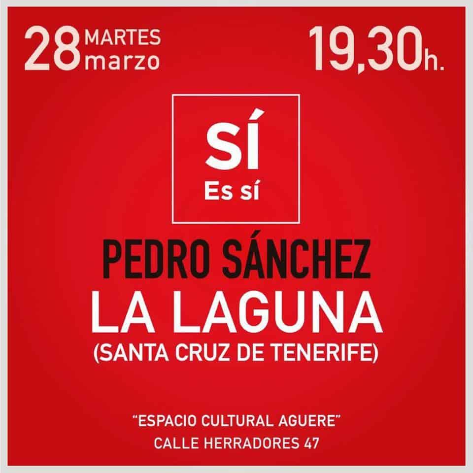 Pedro Sánchez La Laguna