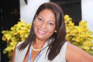 La periodista venezolana, Brenda Salceda