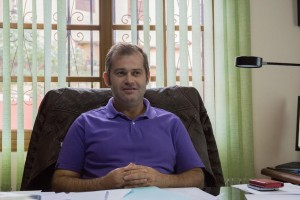 Emiliano Coello, alcalde de Vallehermoso