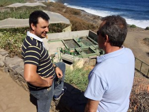 Pedro Negrín y Rubén Segredo
