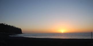 Foto de Erasmo Ramos/ Amanecer desde Playa de Santiago