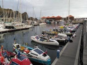 Embarcaciones en el Puerto Deportivo de San Sebastián de La Gomera (Foto Gomeranoticias)