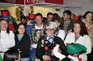 Personaje característico del Carnaval de Vallehermoso