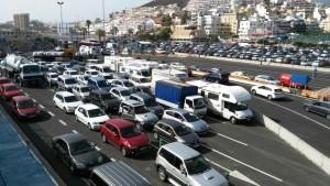 Puerto de Los Cristianos (Foto Gomeranoticias)
