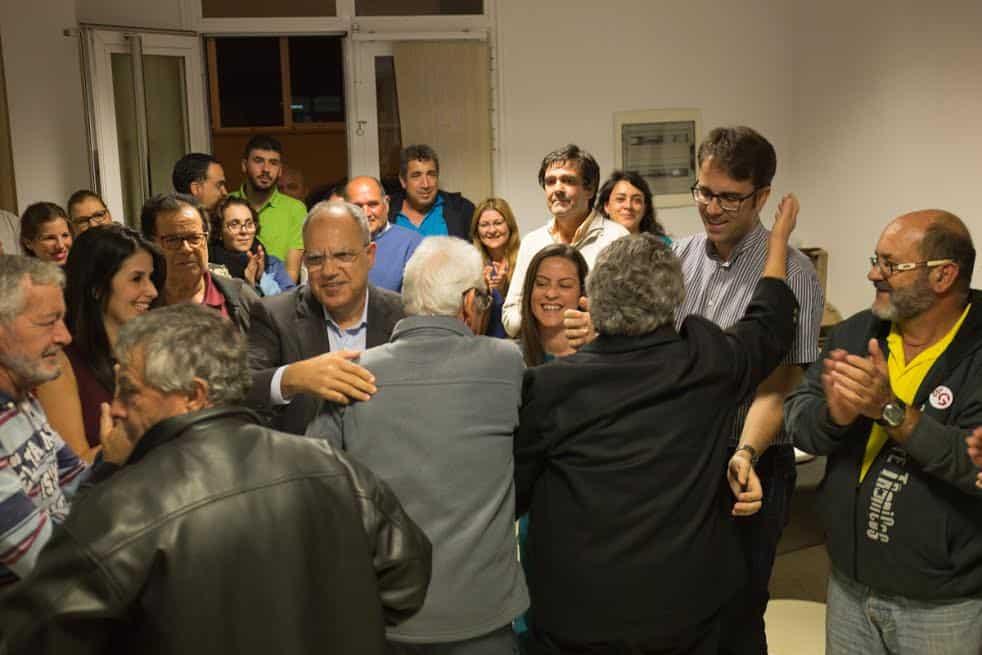 Noche electoral en la sede de ASG (Foto remitida)