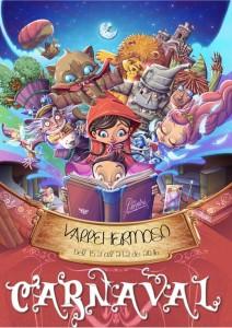 Cartel del Carnaval de Vallehermoso 2016
