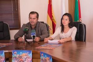 Emiliano Coello durante la rueda de prensa