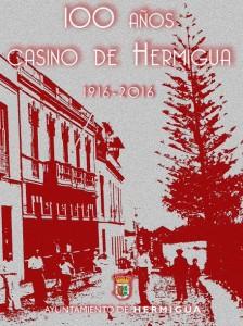cartel 100 años casino de hermigua