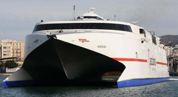 Horarios del buque de naviera armas para la semana entre for Oficinas fred olsen
