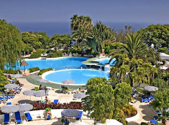 El cabildo colabora con el cotcan y con el cot for Hotel jardin tecina gomera