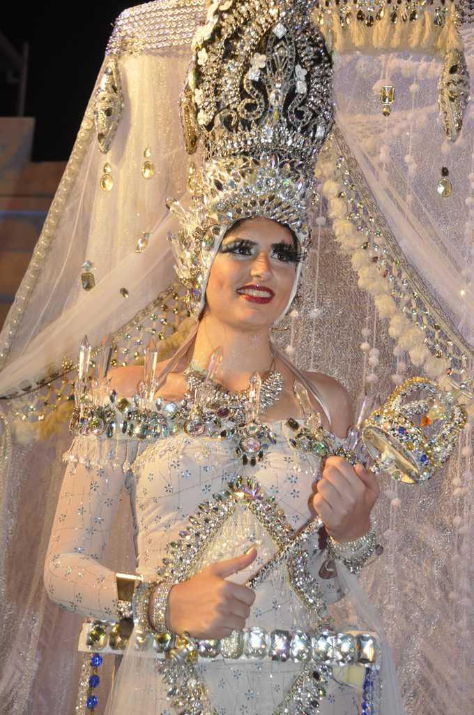 Laura López Herrera, Reina del Carnaval de San Sebastián de La Gomera 2016