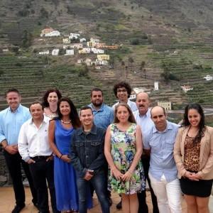 MIembros de la candidatura de Nueva Canarias en las pasadas elecciones municipales