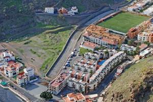 Cauce del barranco de Playa de Santiago