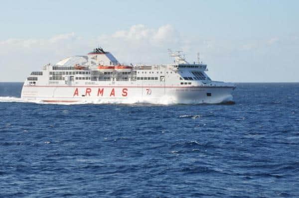 Horario del buque de naviera armas para la presente semana for Horario naviera armas oficinas