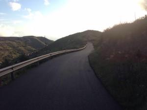 Carretera del colegio de Chipude