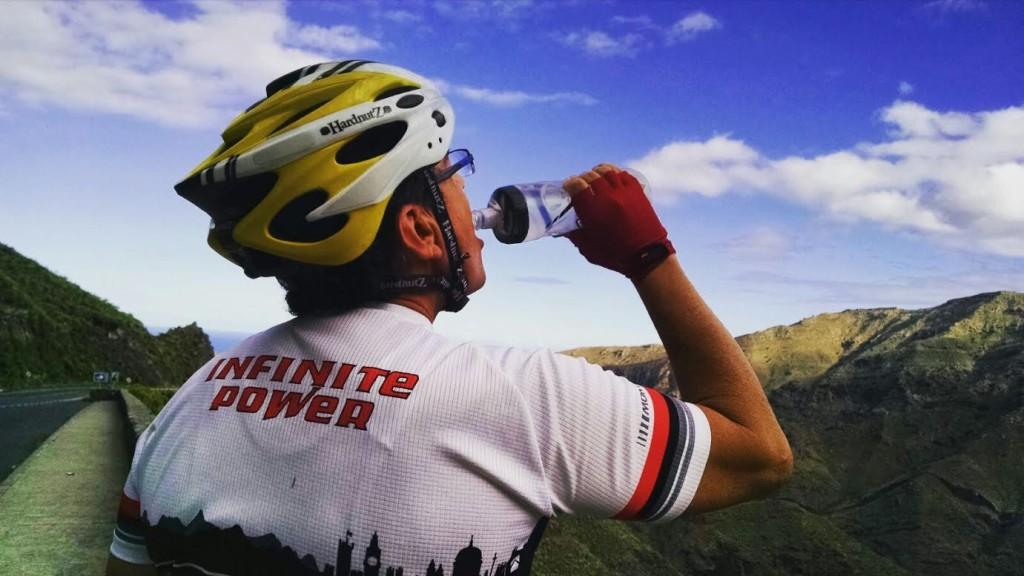 Emilio Morales durante uno de sus entrenamientos.
