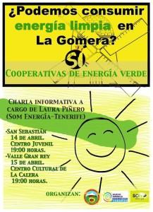 Energía limpia en La Gomera