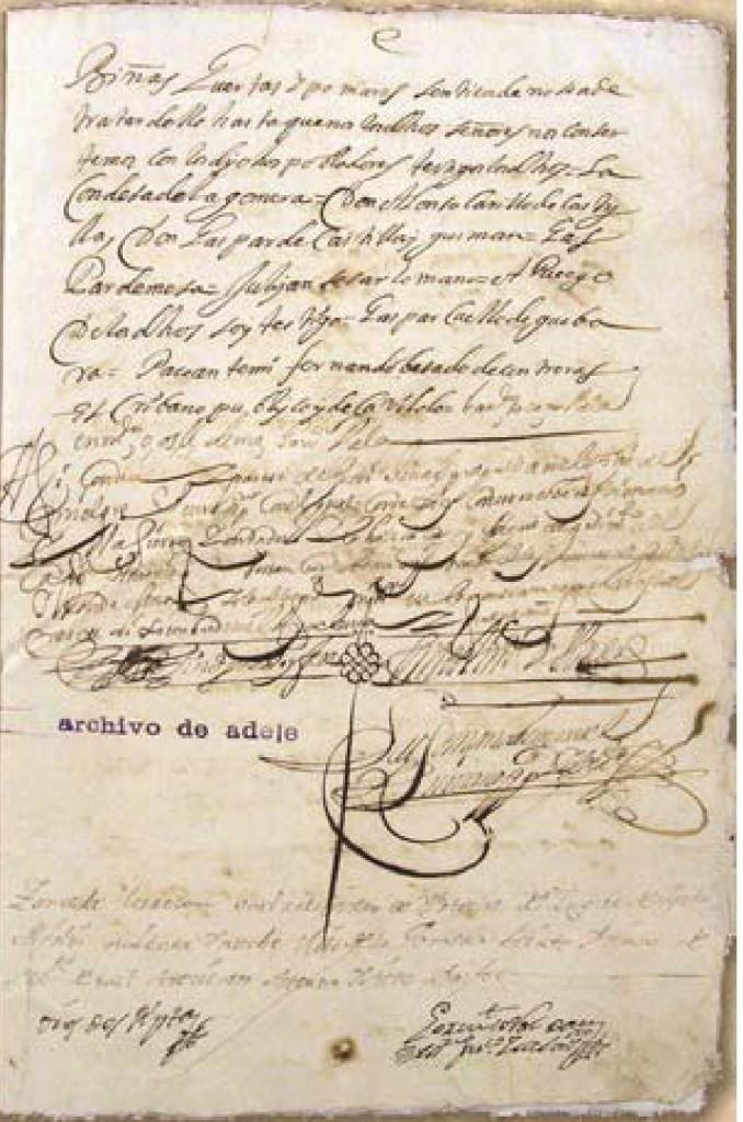 Carta Puebla de Agulo (eldia.es)