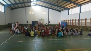 Actividades en el Colegio de La Lomada