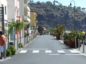 Avenida de Playa de Santiago, remodelada bajo el Gobierno de José Luis Rodríguez Zapatero