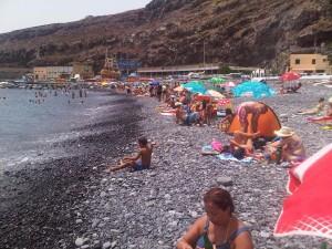 Playa de Santiago, Bandera Azul de la Unión Europea