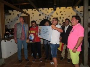 Campeonato de Pesca entrega de premios