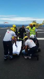 Efectivos del Servicio de Urgencias Canario 1