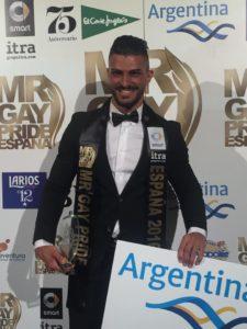 Cándido Arteaga Mr Gay España