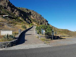 Ermita de El Paso muros
