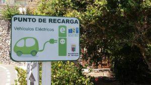 Punto de carga vehículos eléctrico de Hermigua