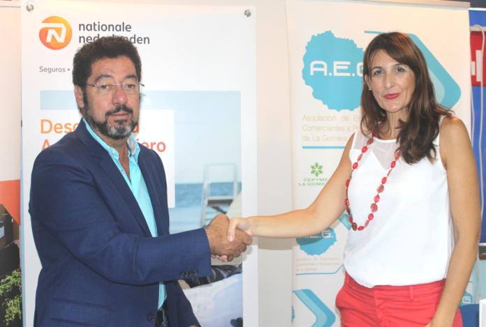 Aeg firma un convenio de colaboraci n con la entidad for Convenio oficinas y despachos tenerife