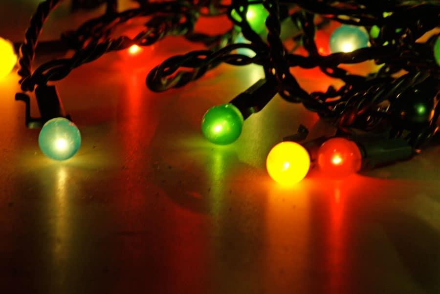39 vallehermoso pueblo de la navidad 39 gomeranoticias - Arbol de navidad con luces ...