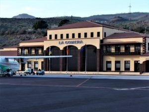 Aeropuerto de La Gomera pista