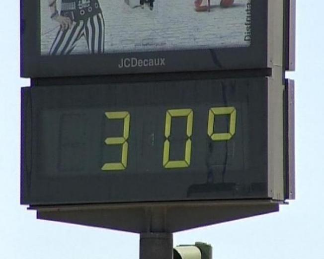 Los termómetros pueden alcanzar cerca de los 30 grados en La ...