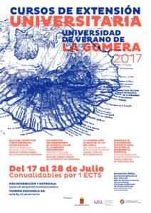 cartel universidad de verano de la gomera 2017