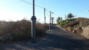 Iluminación acceso a la Playa del Inglés