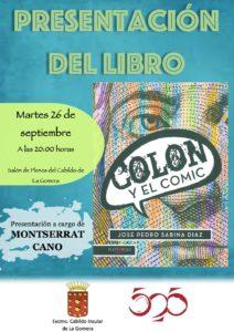 Cartel presentación Colón y el Comic