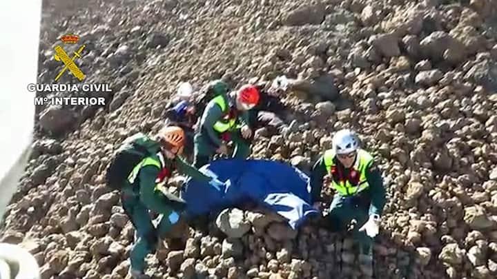 Rescate en el Teide 1