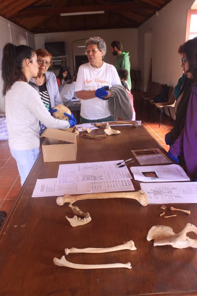 Imagen de archivo de un taller celebrado en el barrio de Las Rosas (Agulo)
