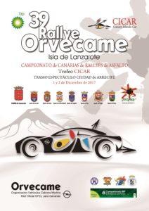 Cartel Rallye Lanzarote Orvecame