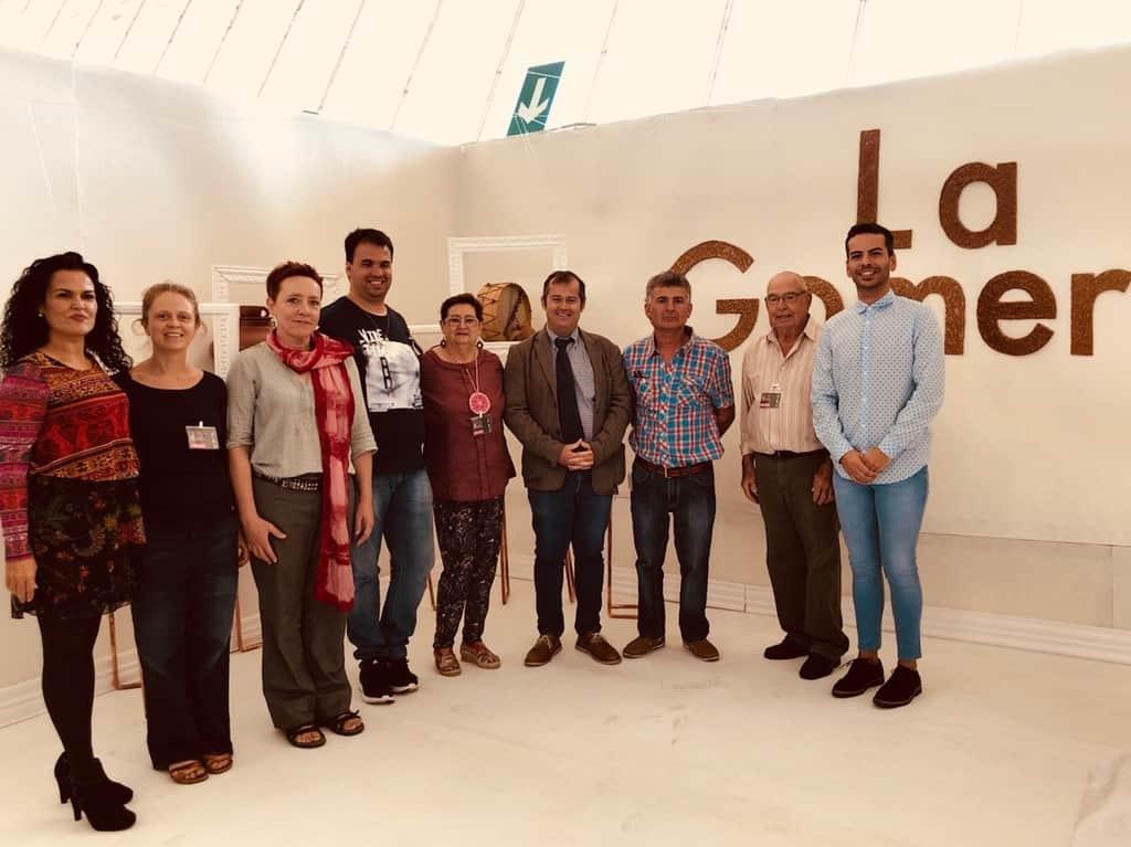 La Gomera Presente Con Un Stand En La Feria De Artesanía De Canarias