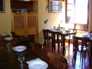 Interior del Restaurante la Vieja Escuela