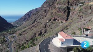 Vista aérea de Valle Gran Rey
