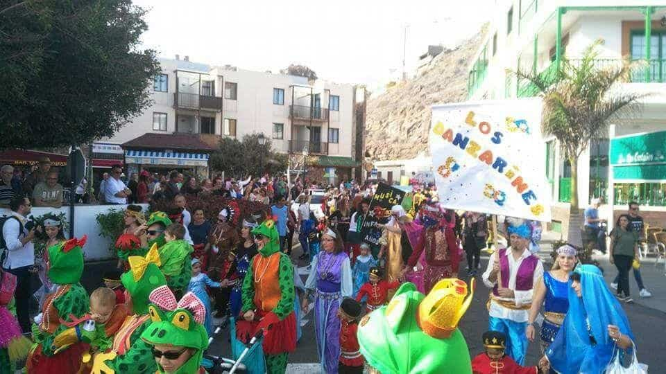 carnaval de playa de santiago Coso infantil