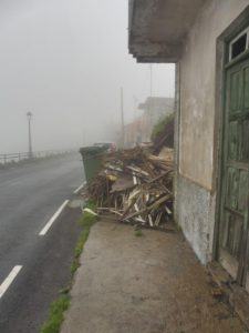 El Cercado, restos de residuos