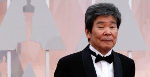 Isao Takahata, en los Oscar de 2015. REUTERS