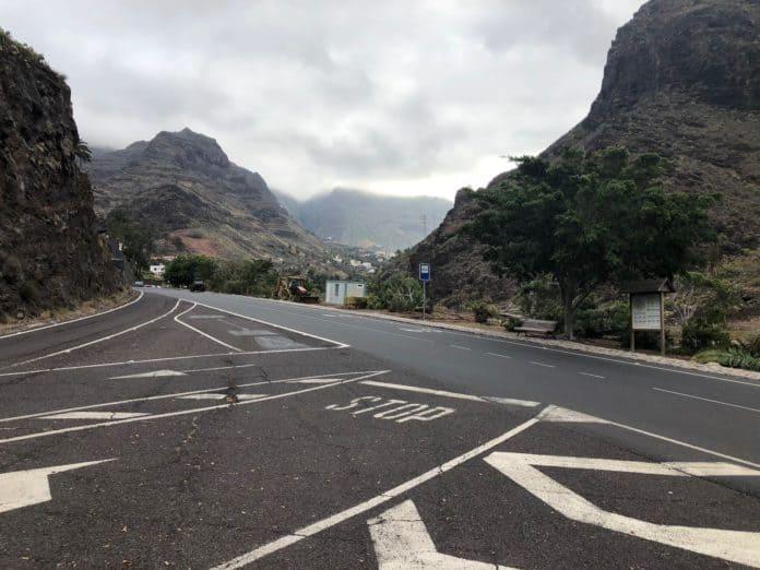 El Cabildo inicia los trabajos de mejora y adecuación integral del cruce de Las Orijamas en Valle Gran Rey