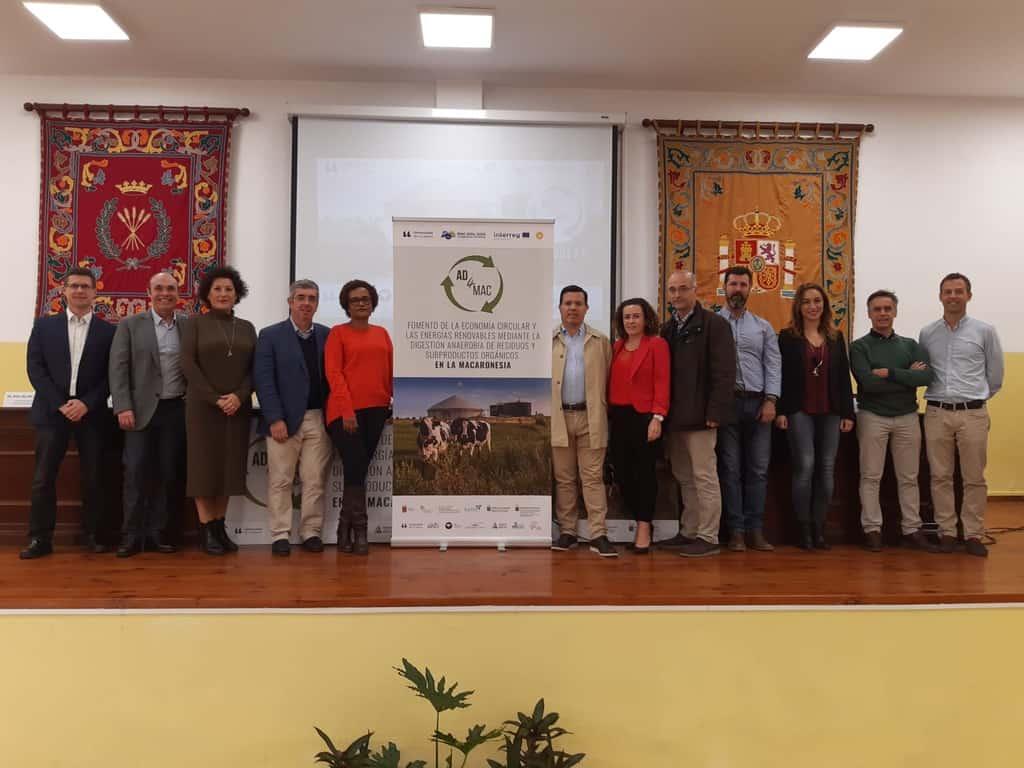 Resultado de imagen de El Cabildo obtiene fondos Interreg para la implementación del biogás en el matadero insular