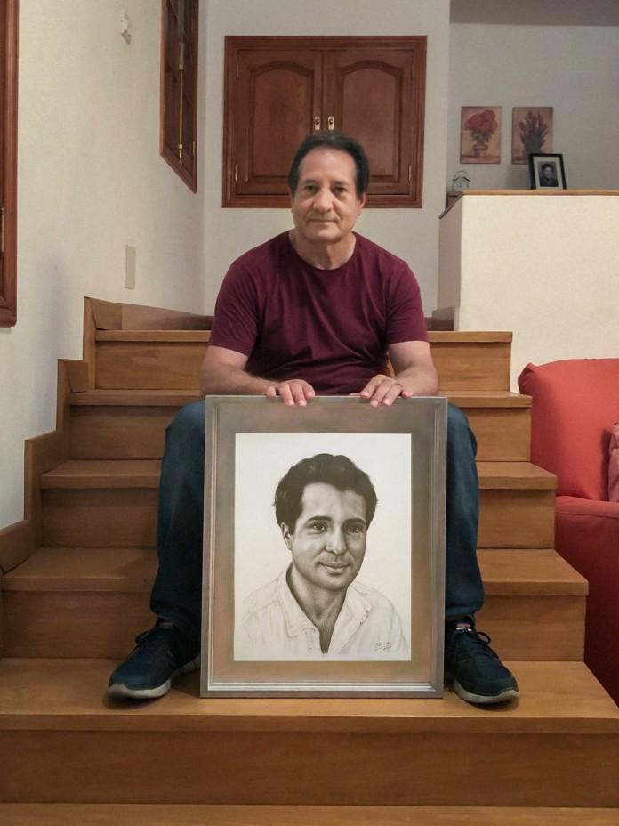 Antonio Zamorano y autorretrato