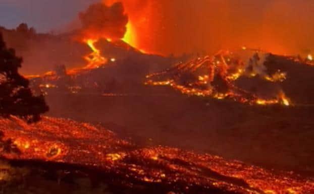 Una nueva boca eruptiva obliga a evacuar a vecinos de Tacande -  Gomeranoticias